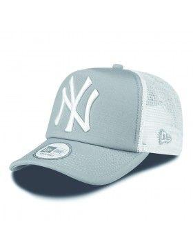 New Era Trucker Cap Ny New York Yankees Grey Gorras Para Hombre Gorra De Los Yankees Gorras