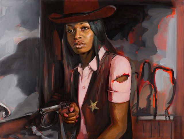 Felice House Presents Classic Western Films with Female Cowboys as Leads. CutPasteStudio Illustrations, Entertainment, beautiful,creativity, Art, Artwork, Artist, sculptures , nature, water color painting, Women's paintings.