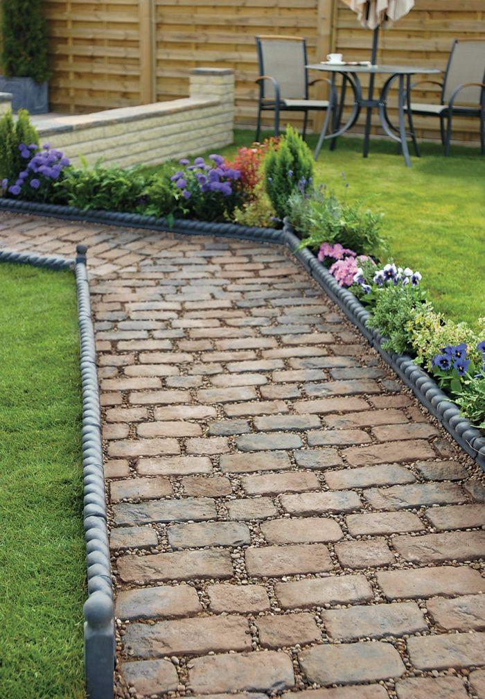 111 Gartenwege Gestalten Beispiele   7 Tolle Materialien Für Den Boden Im  Garten! | Gardening Paths | Pinterest | Garden, Garden Design And Garden  Paths