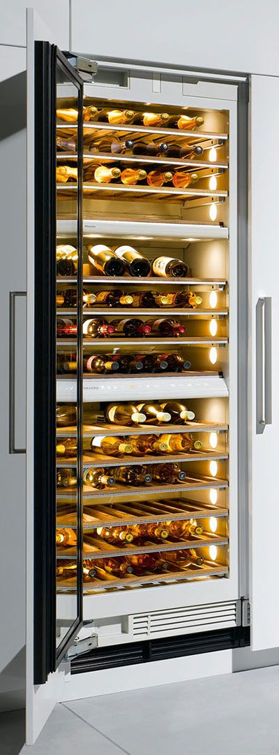 Miele Champagne Fridge (how Have I Lived Without One?)