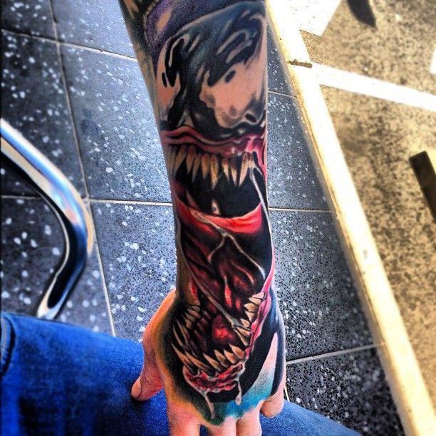 Venom Carnage Tattoo: The 25+ Best Venom Tattoo Ideas On Pinterest