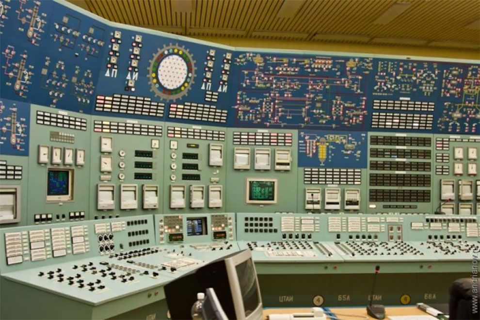 The Vintage Beauty Of Soviet Control Rooms Control Panels