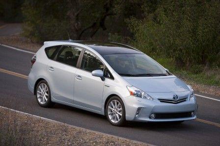Toyota Prius 2012 V Hybrid View