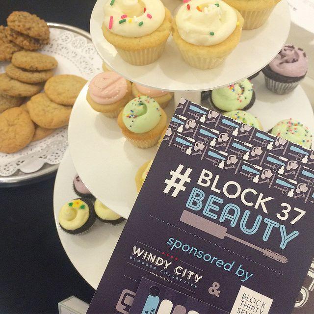Event Recap: Block37 Beauty on The Trendy Sparrow Blog