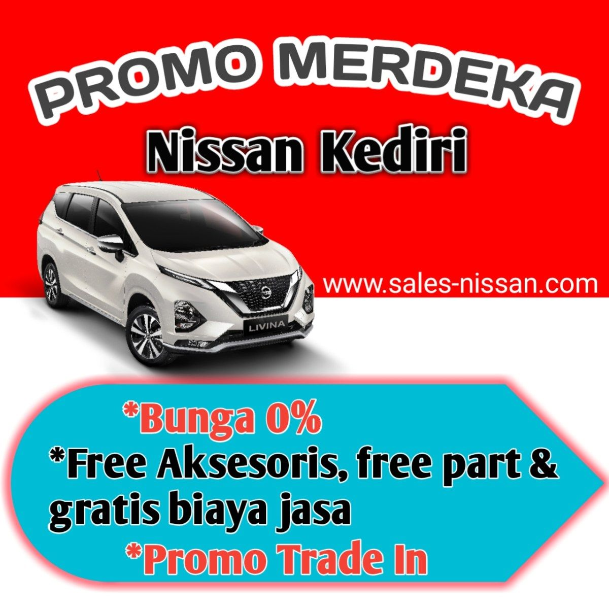 NISSAN KEDIRI PROMO MERDEKA AGUSTUS 2020 di 2020 Nissan