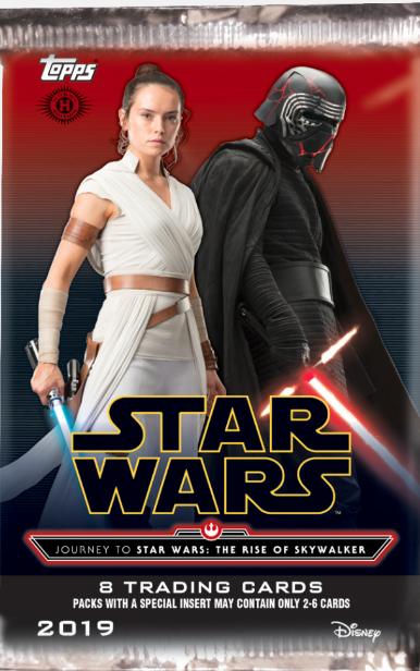 2019 Topps Star Wars Journey To Rise Of Skywalker Checklist Info Boxes War Skywalker