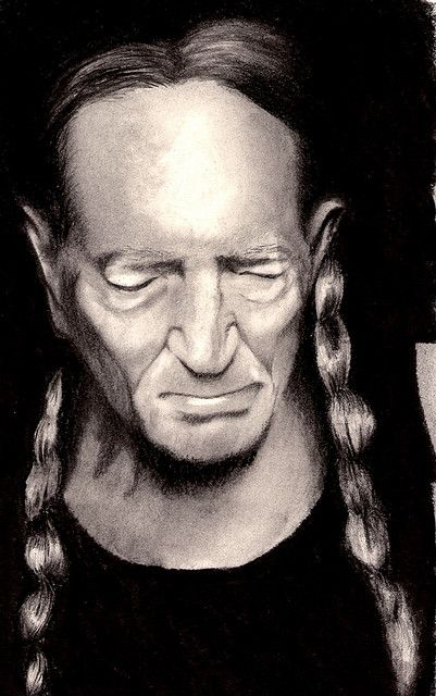 #Caricature: Willy Nelson - http://dunway.com