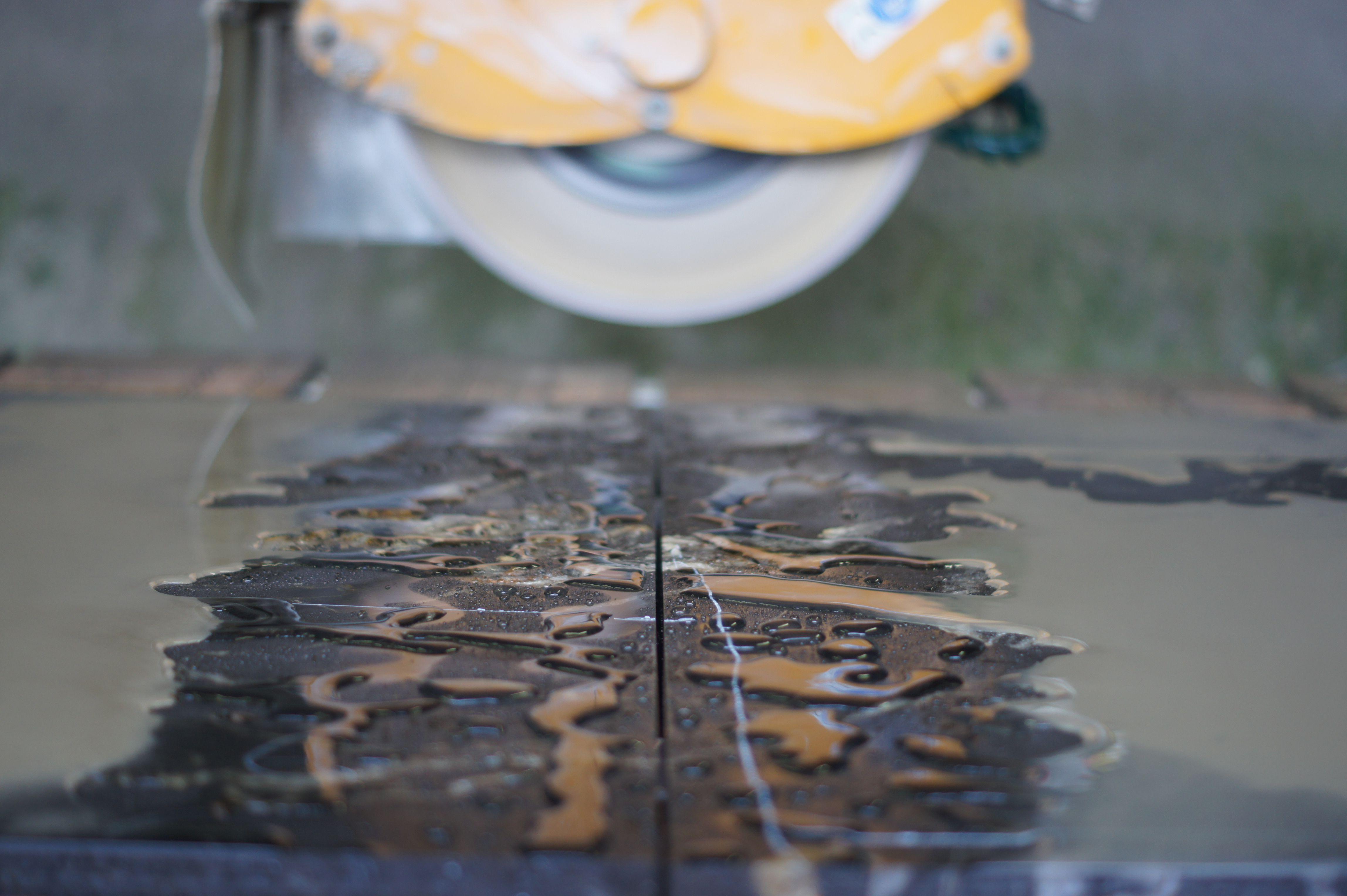 Titanium Granite Kitchen Stone Interiors Ltd Titanium Granite Kitchen In Production