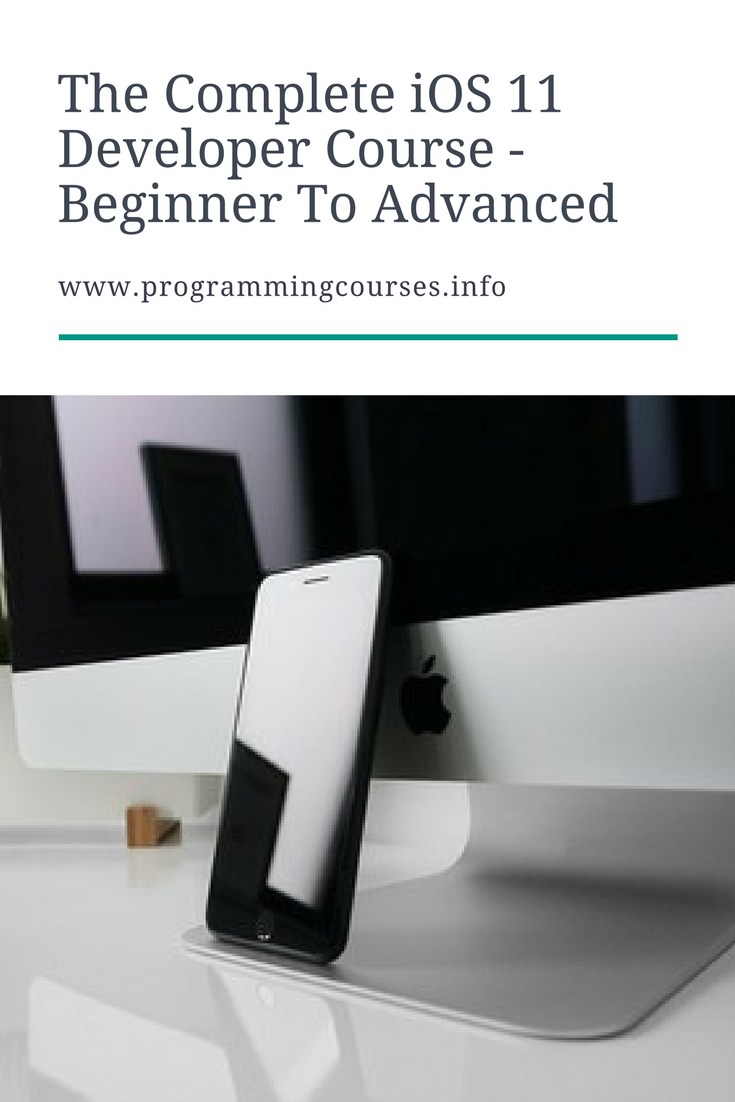 Iphone Programmer Sample Resume The Complete Ios 11 Developer Course  Beginner To Advanced .