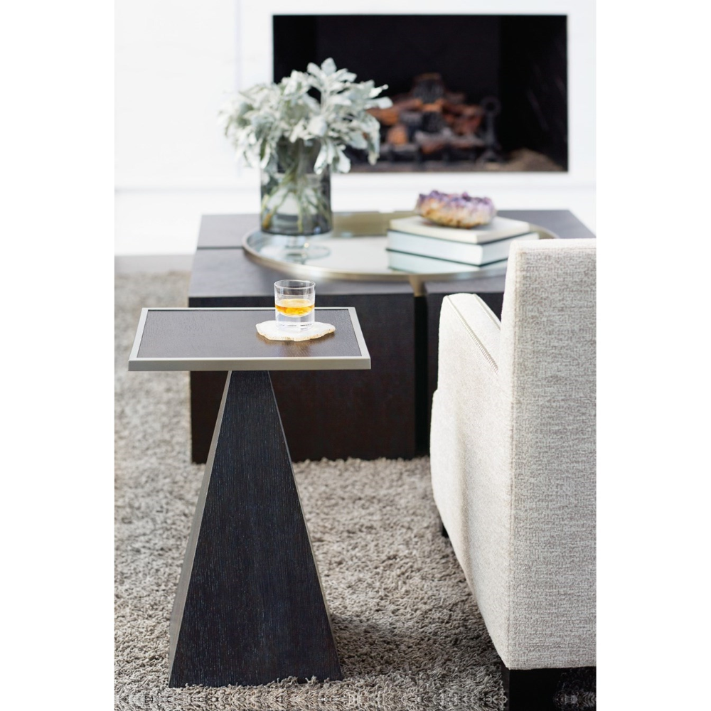 This Contemporary Accent Table Offers A Stylish And