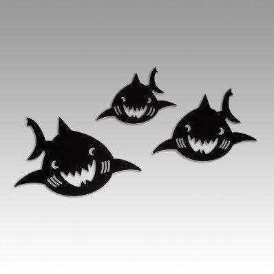 Shark Family - Wall Decal