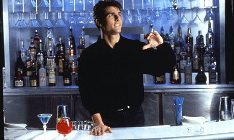 Tom Cruise, Cocktail — the world's last barman poet.