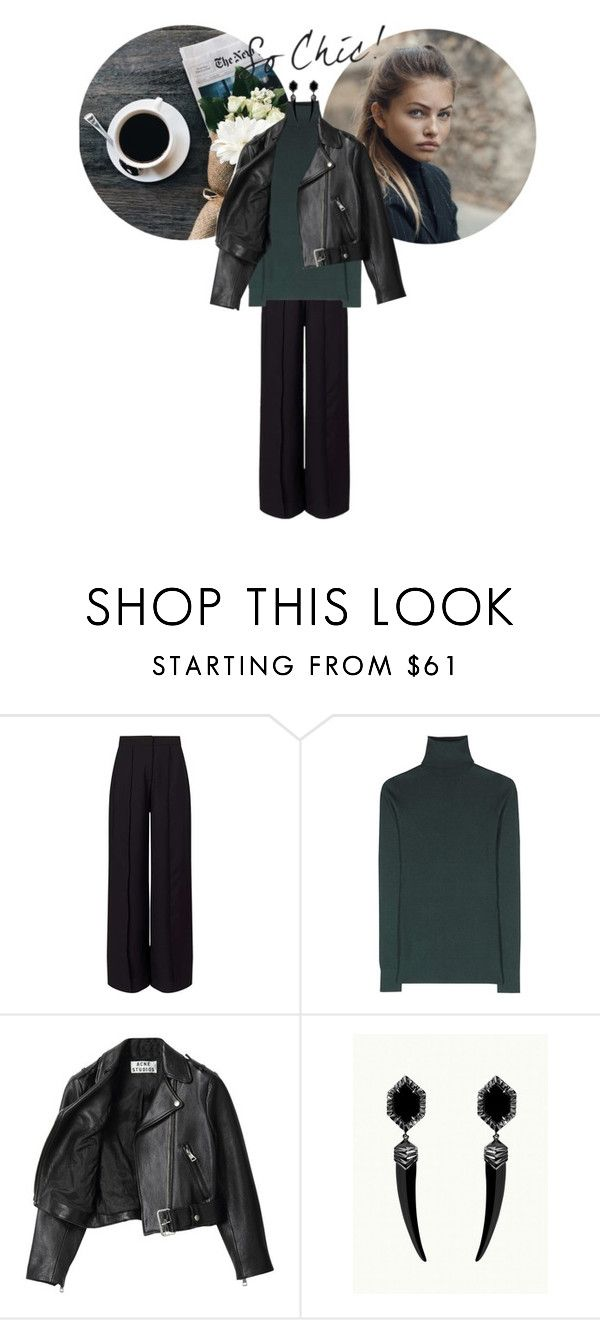 """""""Sweater weather"""" by tamo-kipshidze ❤ liked on Polyvore featuring Miss Selfridge, Dolce&Gabbana, Acne Studios, Sweater and weather"""
