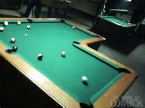 L Shaped Pool Table Want One Pool Table Billiard Tables Pool