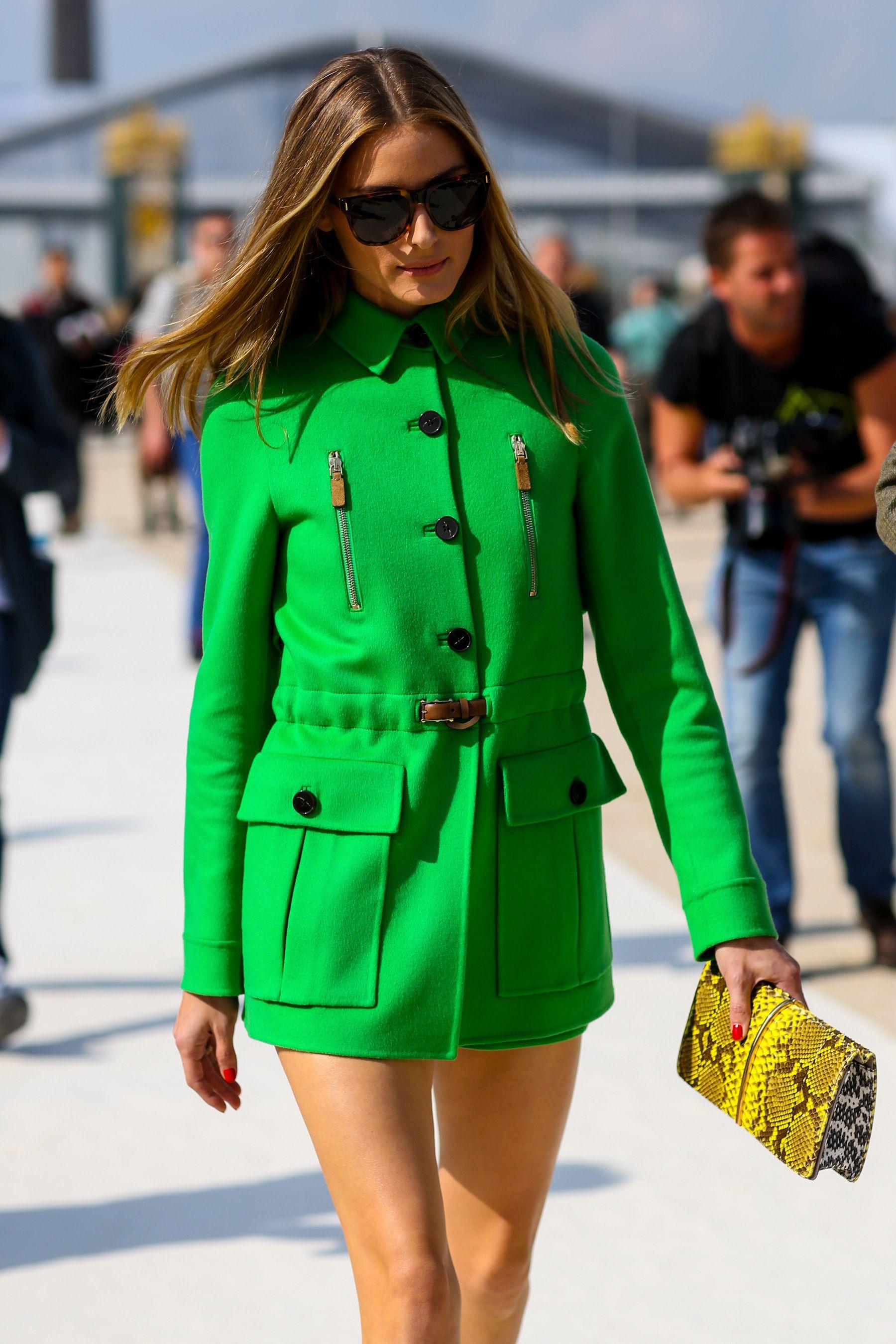 Paris FW SS15 Street Style: Olivia Palermo and Nausheen