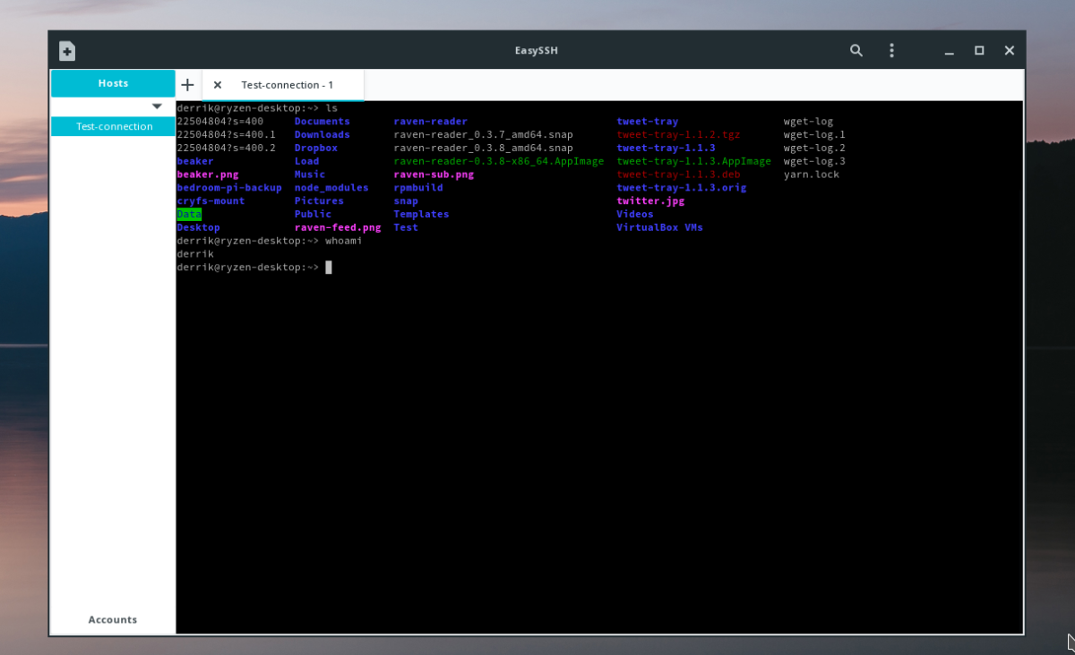 How to easily set up SSH on Linux with EasySSH   Linux   Linux