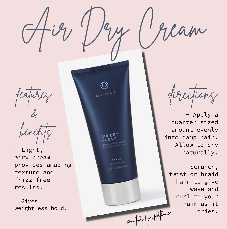 naturally_platinum Linktree Air dry cream, Monat