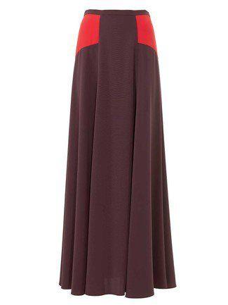Maxi Skirt with Yokes 01/2016 #106   Nähen   Pinterest   Rock, Nähen ...
