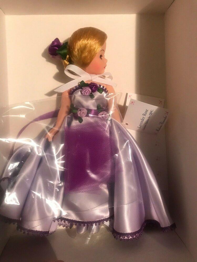 10/'/' Lavender Rose Madame Alexander Doll New NRFB