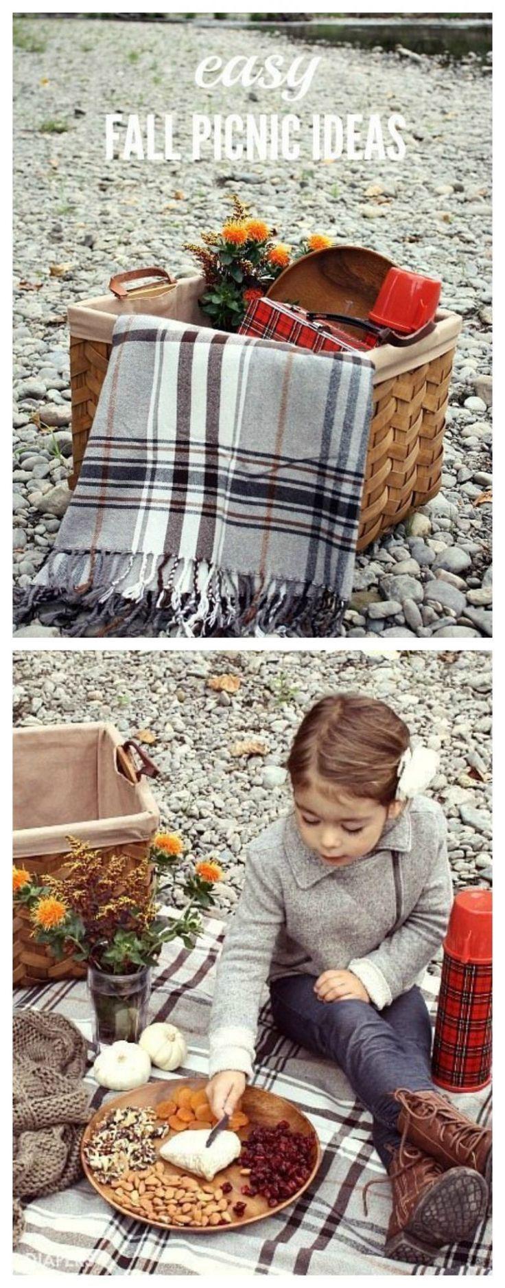Easy Fall Picnic Ideas #familypicnicfoods