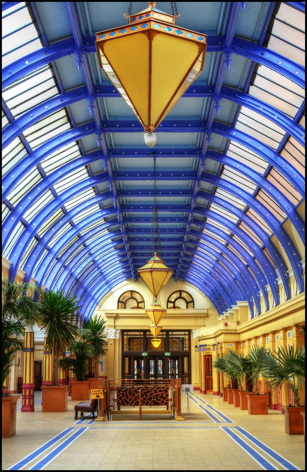 winter gardens blackpool interior spaces pinterest blackpool
