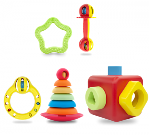 Bioserie 5pc Toy set