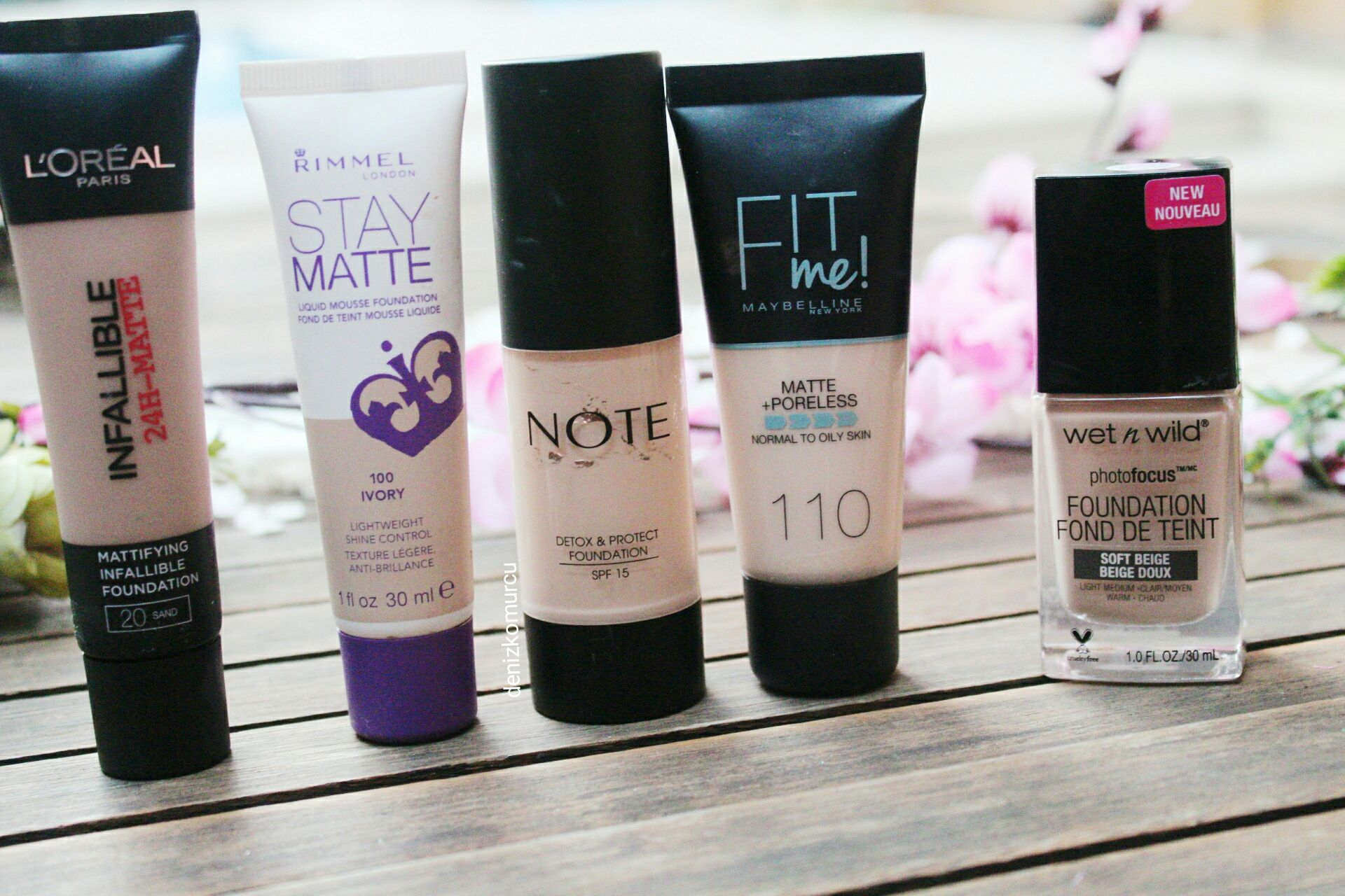 Best 5 Drugstore/ Affordable Foundations For Oily Skin
