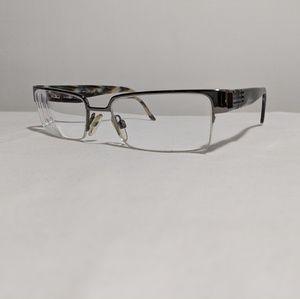 62be31931e9 Authentic Burberry B1110 Half-Rimless Glasses