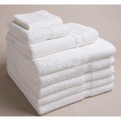 Rifz Il Collection White Bath Towel Set Size Bath Towel Small