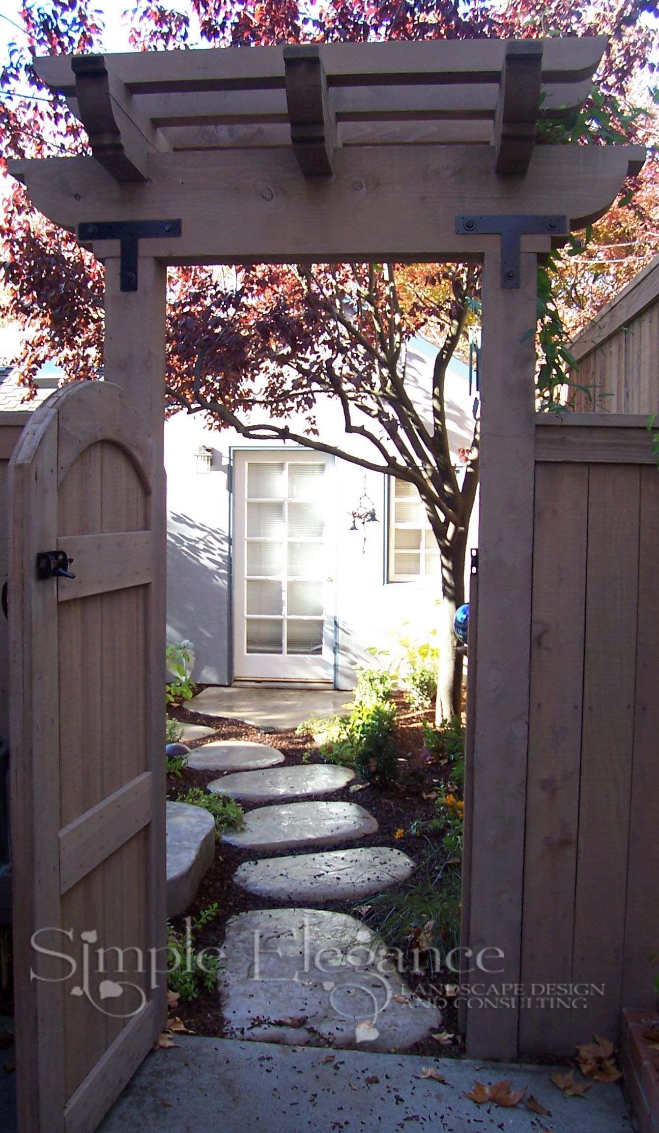 Entry to a secret garden