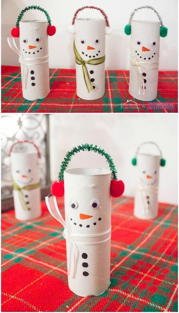 basteln mit klopapierrollen 20 geniale tipps um bei der weihnachtsdeko geld zu sparen. Black Bedroom Furniture Sets. Home Design Ideas