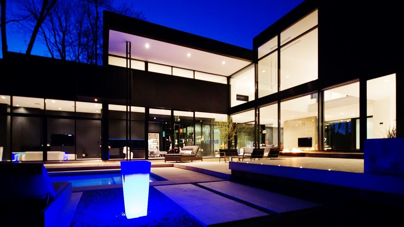 Stunning unique contemporary modern luxury residence in south west oakvi