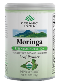 Moringa Leaf Powder by Organic India USA - Buy Moringa Leaf Powder 8 Powder at the vitamin shoppe