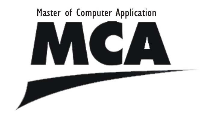 Master of Computer Applications (MCA) is a three-year