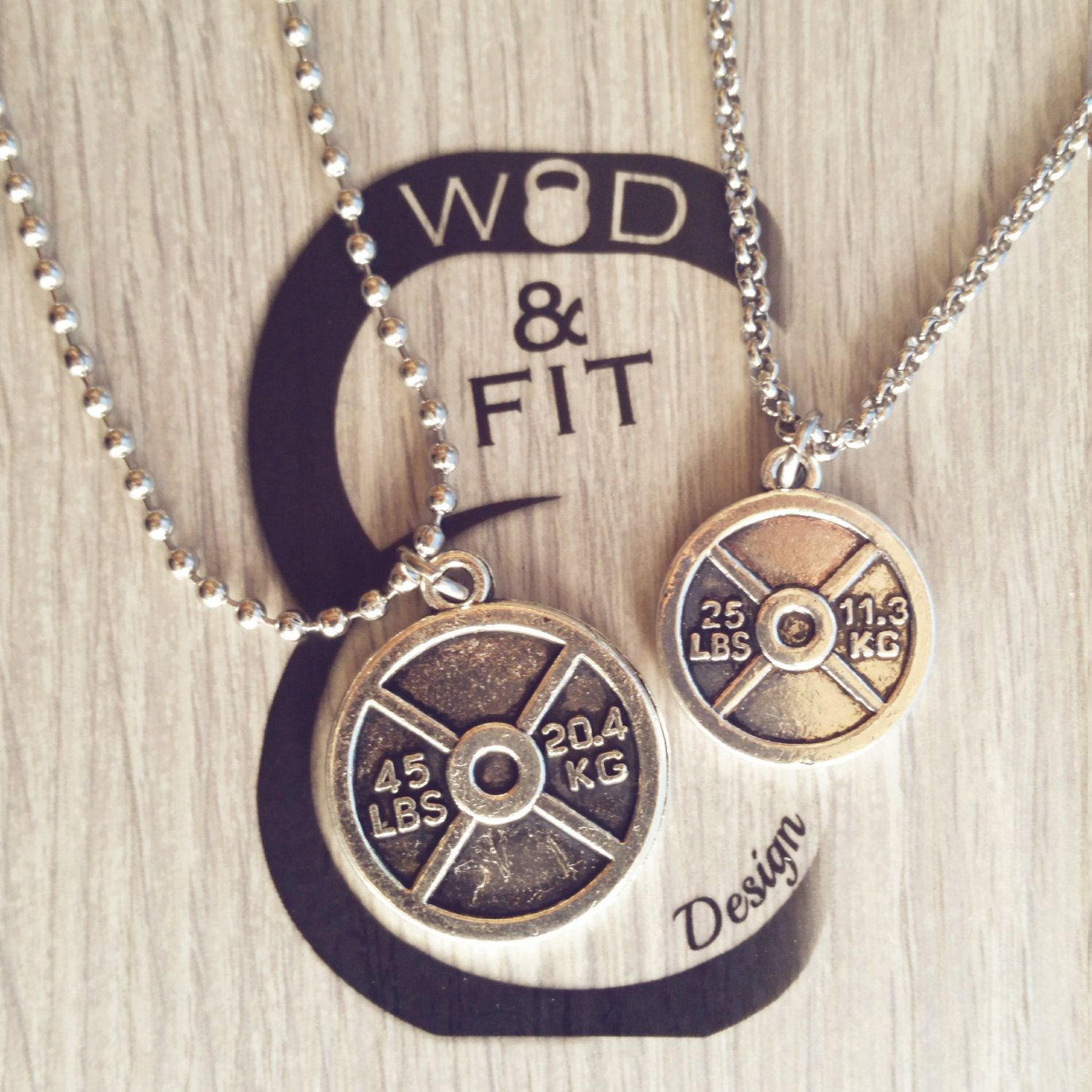 27362ff951d6 Necklace Weight Plate Fitness Workout,Bodybuilding,Personalized ...