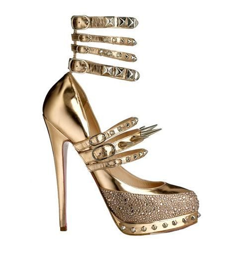 Christian Louboutin for Rodarte Spiked Platform Pumps (yup, THOSE ...