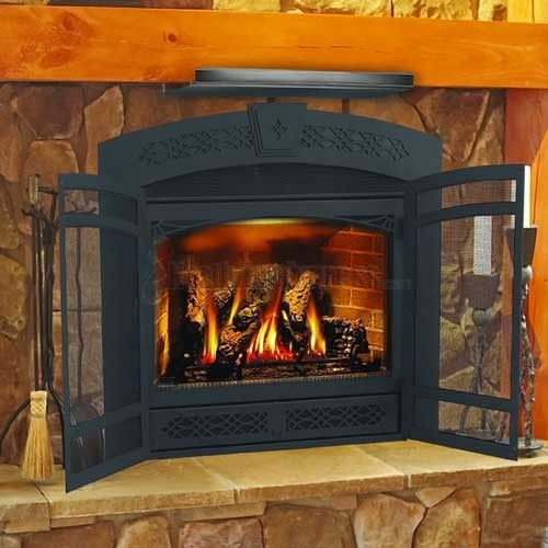 fireplace+deflector+shield | Top Fireplace Mantel Heat Shield - Fireplace+deflector+shield Top Fireplace Mantel Heat Shield