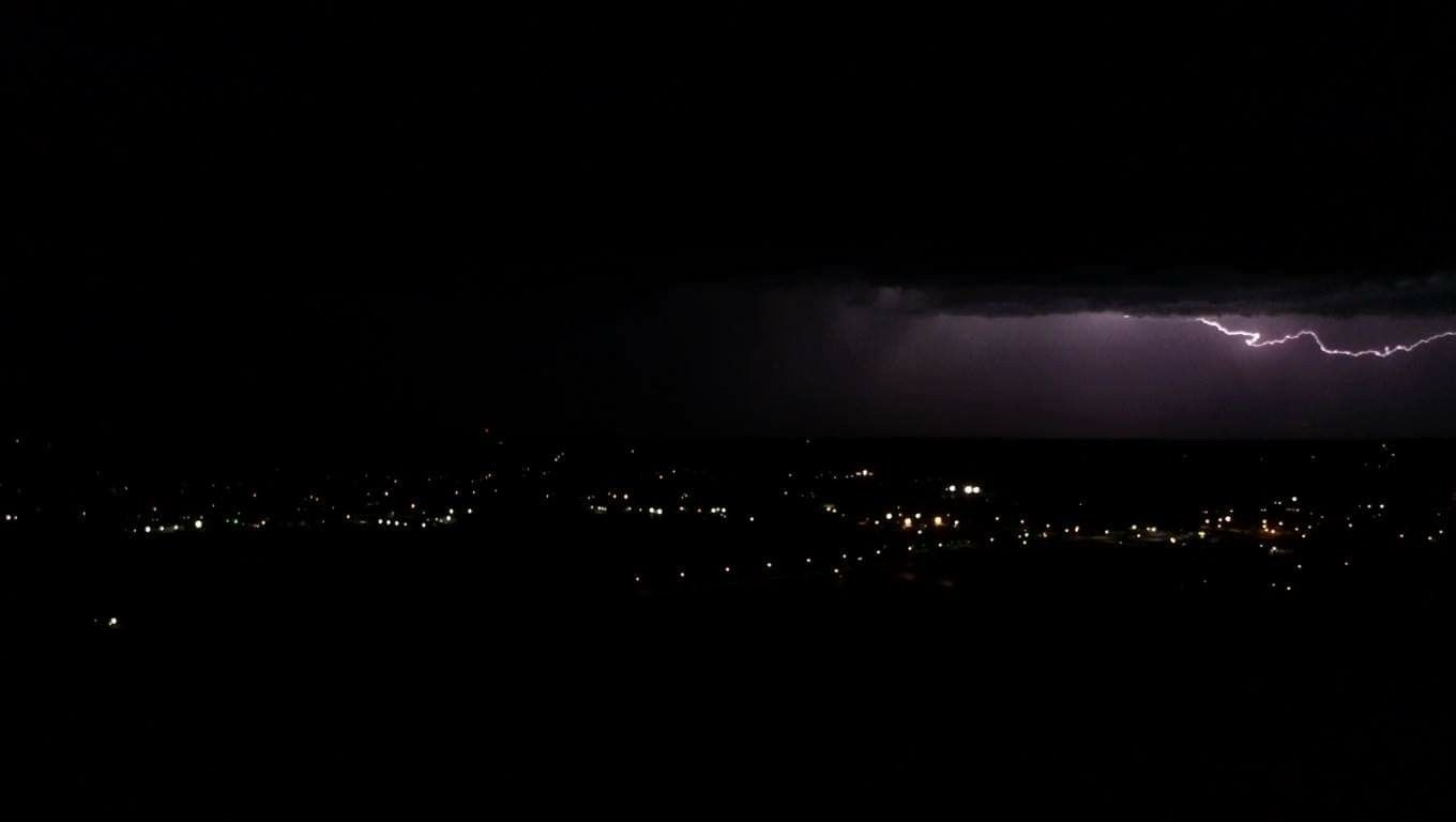 A Little Light Show From Last Nights Storm Taken 5 30 19 Light