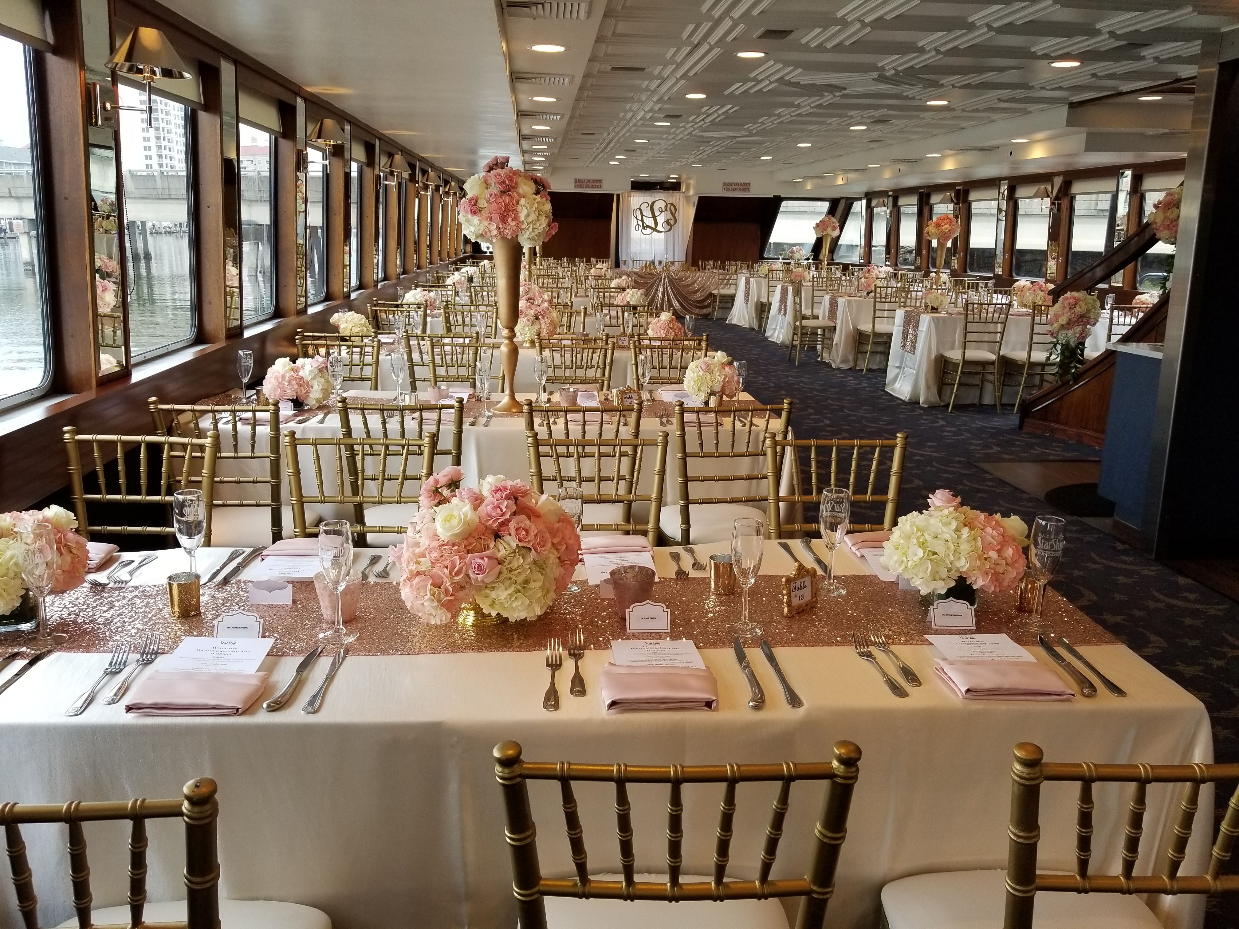 Yacht Starship Ii Yacht Wedding Decor Yacht Wedding Boat Wedding Decorations