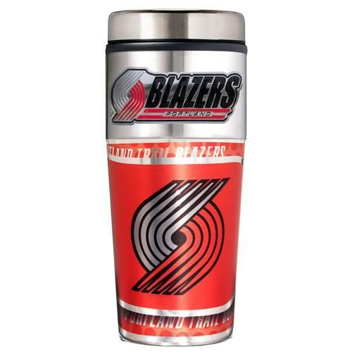 Portland Trail Blazers Travel Coffee Tumbler