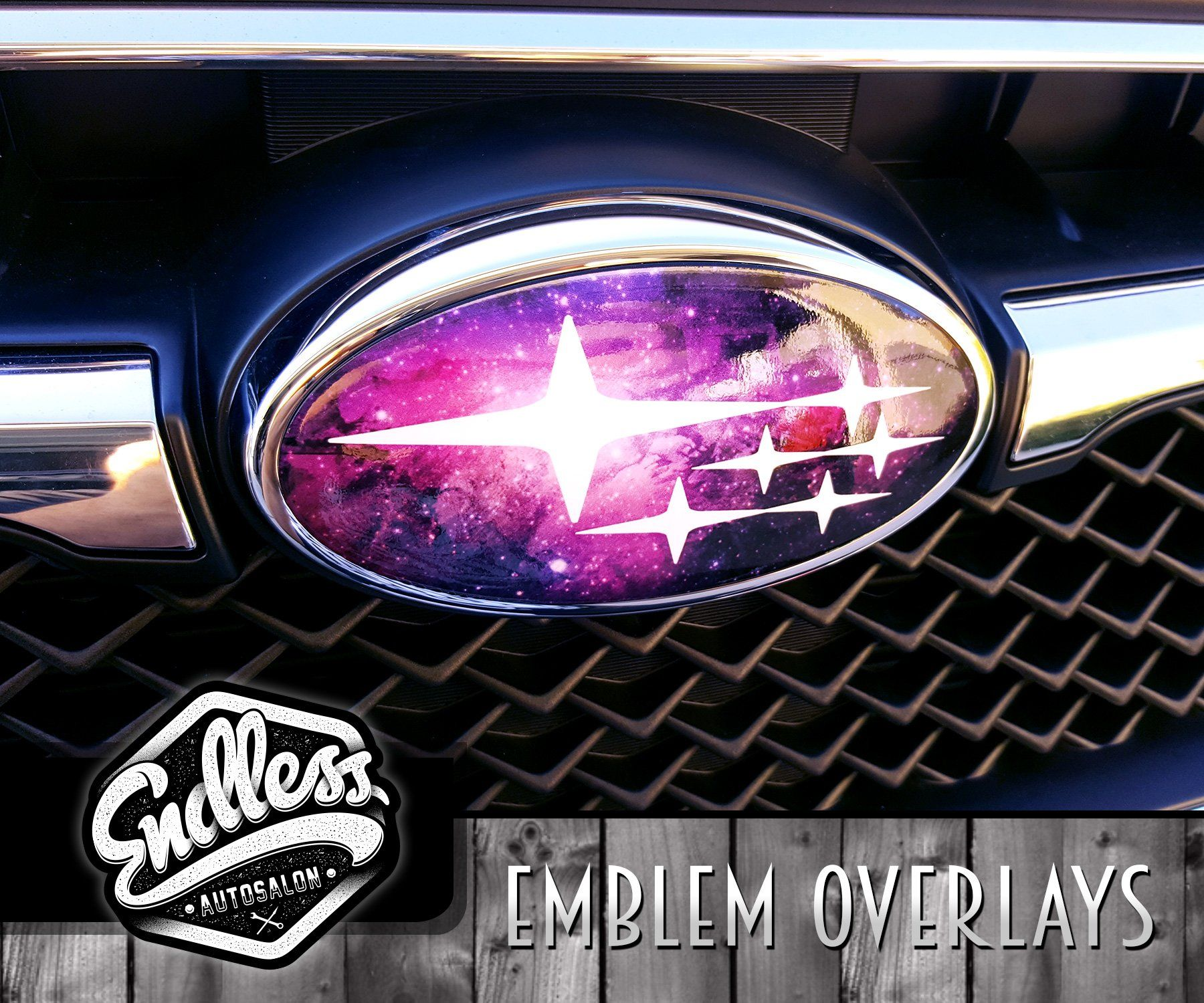 Subaru Galaxy Emblem Overlays Endless Autosalon Subaru Wrx Wrx Subaru