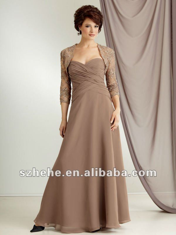 466e27cd Ruched waist with shrug | Mother of the Bride Dresses | Mother of ...