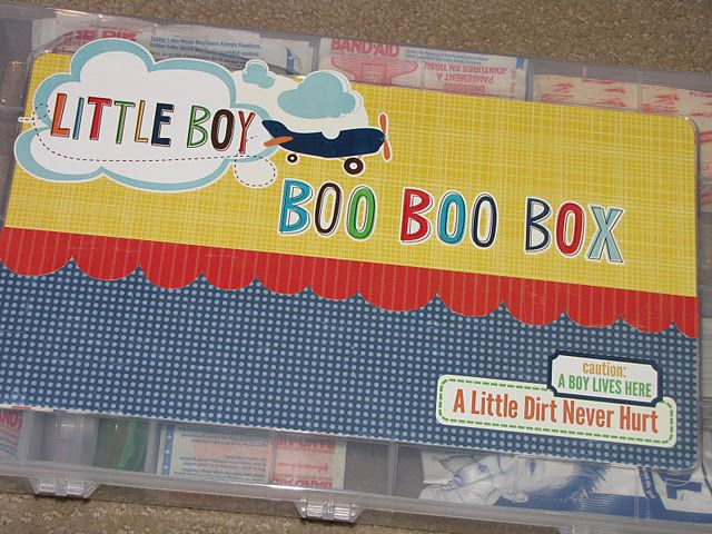 Boo boo box from Clean and Scentsible!