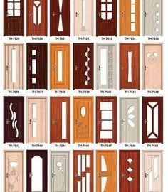 Puertas dobles de madera y vidrio - Buscar con Google