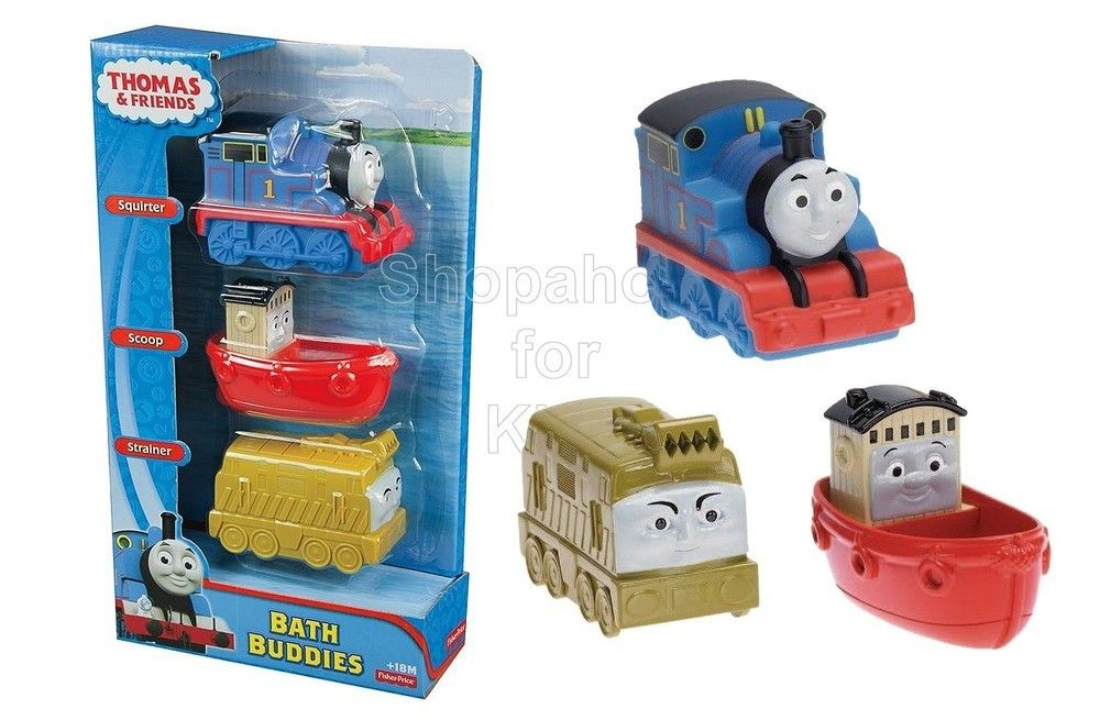 Code: 01855. Fisher-Price My First Thomas the Train Bath Buddies ...