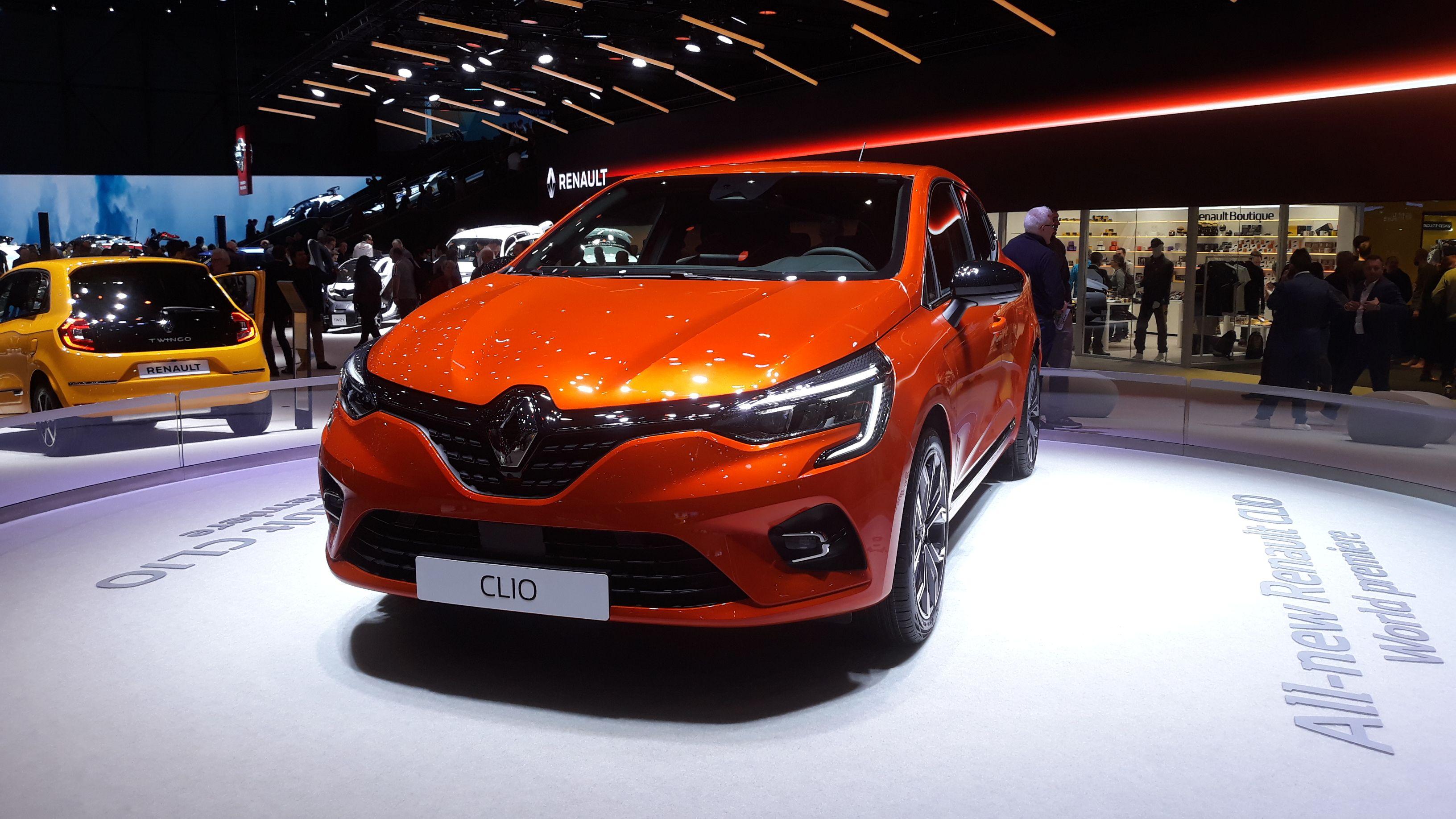 Renault Clio Premiere At Geneva Motor Show Renault Clio Geneva Motor Show New Renault Clio