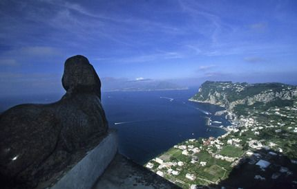 The Lion. Villa San Michele, Capri   Photo: L.Brink