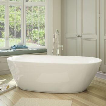 Jono Maeva Free Standing Tub And Faucet Combo 70 Inch White Tub $1,179.99  Comes With