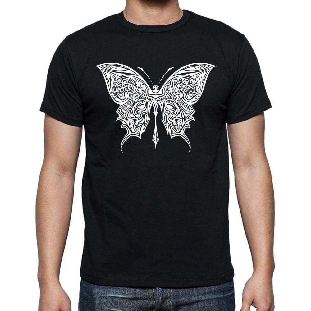 Photo of Tribal Butterfly Tattoo 1 Black, cadeau T-shirt, tee-shirt pour hommes, noir 00166