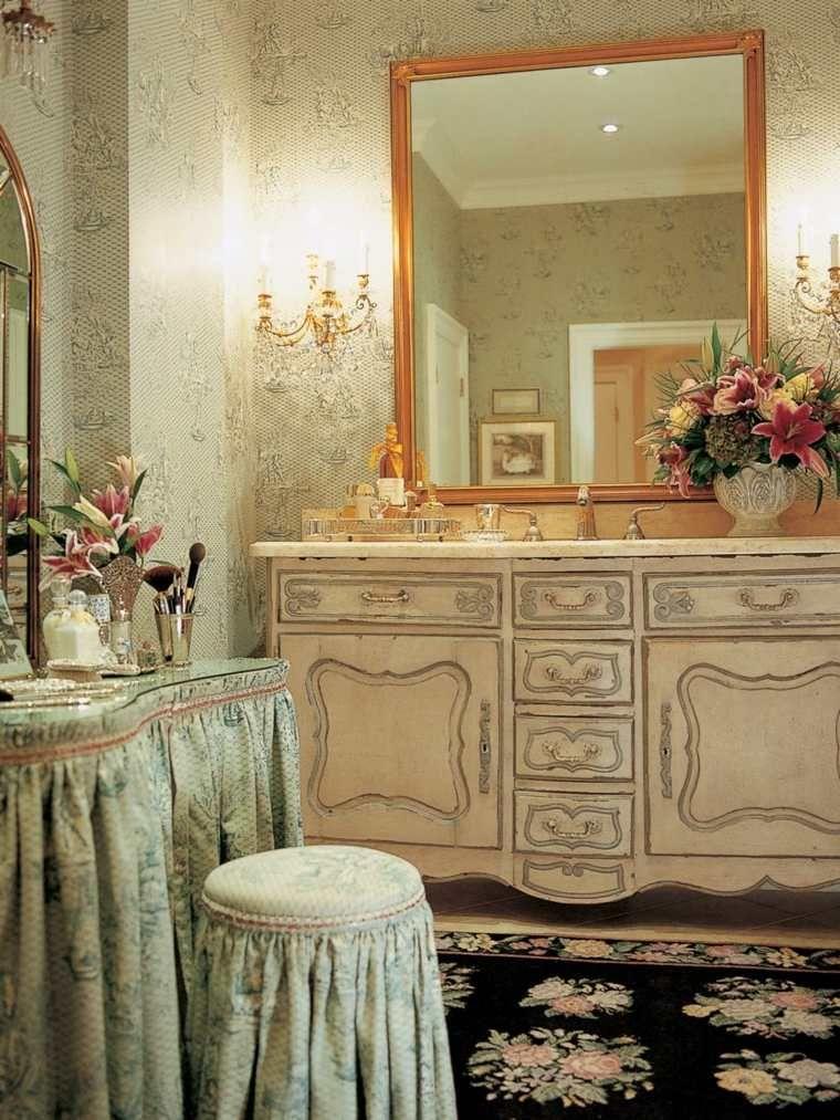 Déco salle de bain de luxe et style baroque - Baroque et Déco
